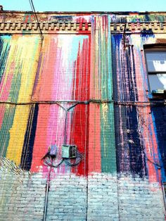 rainbow warrior street art