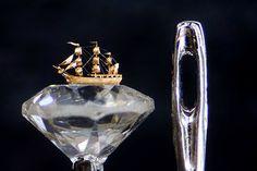 A arte microscópica de Willard Wigan 06