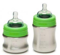 Klean Kanteen's stainless steel baby bottles