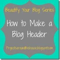 make a blog header