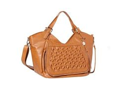Vegan Shoes & Bags: Ainsley Bag by Big Buddha in Cognac
