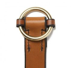 Slip Cinch Belt in MXS Light Havana | SIR JACK'S