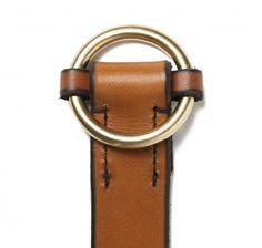 Slip Cinch Belt in MXS Light Havana | SIR JACK'S
