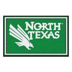 North Texas Mean Green NCAA 4x6 Rug (46x72)