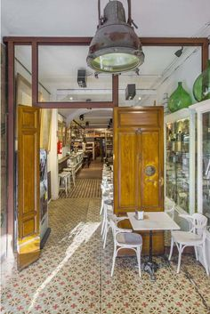 Marita Ron – Heritage Cafe, A Coruña Restaurant Design, Restaurant Bar, Oyster Bar, Cafe Bar, Best Interior Design, Coffee Shop, Chair, Shopping, Furniture