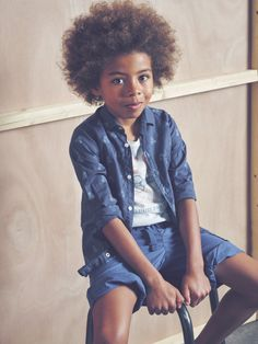 Denim kids style | LittlePeco.com