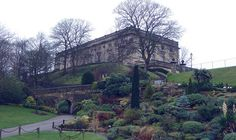 Nottingham Castle (Nottingham, England) This castle is right downtown Nottingham.