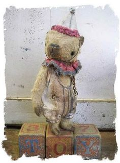 Whendi's Bears: Old Toys ich liebe ihn