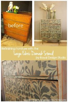 ... on Pinterest | Repainting furniture, Old furniture and Dressers