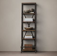French Library Shelving Collection | RH