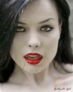 Dark Friday: Origin of the name Vampire Vampire Love, Gothic Vampire, Vampire Queen, Vampire Girls, Vampire Books, Vampire Art, Hot Vampires, Vampires And Werewolves, Goth Beauty