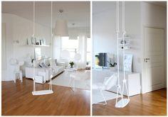 White Lillagunga swing <3
