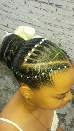 Check Out Our , Simple Hair Styles for Little Black Girls Braids Beads and, Elastic Bands Braided Headband Hairstyles for School, Natural Hair Transformation On Short Hair Rubber Band Updo. Dread Hairstyles, Twist Hairstyles, Headband Hairstyles, Cool Hairstyles, Short Hair Ponytail, Braids For Short Hair, Black Little Girl Hairstyles, Natural Hair Styles, Short Hair Styles