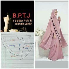 Hijab Fashion Inspiration, Style Inspiration, Sewing Tutorials, Sewing Patterns, Abaya Pattern, Dress Trousers, Beautiful Hijab, Mode Hijab, Pattern Drafting