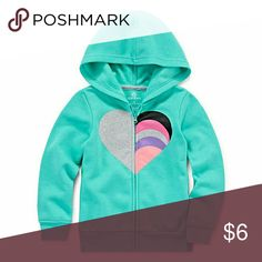 Okie Dokie Hoodie-Toddler Girls Sleeve Length: Long Sleeve Neckline: Hooded Neck Collar: Hood # Pieces In Set: 1 Fabric Description: Fleece Fabric Content: 45% Polyester Apparel Length: 12 Inches Closure Type: Pullover, Zipper Pockets: Front Care: Machine Wash, Tumble Dry Country of Origin: Imported Okie Dokie Shirts & Tops Sweatshirts & Hoodies