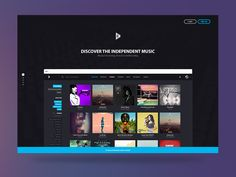 Bitzik - New Landing page by Benoît Philibert