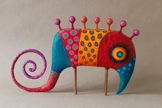 Found paper mache projects, paper mache clay, diy art projects, Paper Mache Projects, Paper Mache Clay, Paper Mache Sculpture, Paper Mache Crafts, Sculptures Céramiques, Diy Art Projects, Clay Art, Paper Mache Animals, Paperclay