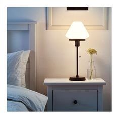 IKEA ÄLVÄNGEN table lamp Creates a soft, cosy mood light in your room.
