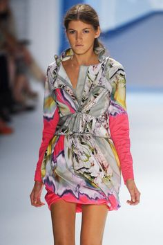 I think Pantone was dead on in predicting their S 2012 color palette as shown by Vera Wang...