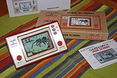 Nintendo Game & Watch 1982. Høyoppløselig lisens for bruk av bilde får du ved å følge link til nettstedet.