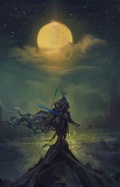For the Moon, João Paulo Bragato on ArtStation at https://www.artstation.com/artwork/V3PBg