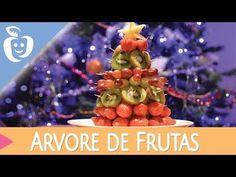 Fim-de-ano: Árvore de Natal Comestível (com frutas) - YouTube