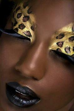 Makeup Art, Makeup Tips, Beauty Makeup, Makeup Ideas, Tiger Makeup, Makeup Salon, Make Carnaval, Fantasy Make Up, Makeup Designs