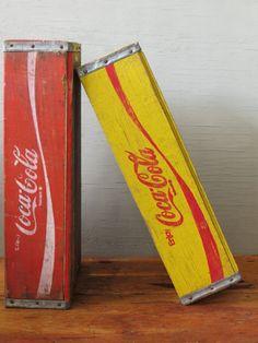 Coca Cola Wood Crates