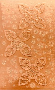 3 Small Jingle Bells Copper Pattern Pressing 2 1 2 X 4 Metal Maven In 2020 Jingle Bells Copper Sheets Pattern