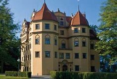 Schlosshotel Althornitz, just west of Zittau, Germany  - built by 1654  - offers 74 rooms and located within a park, the grounds are private and serene