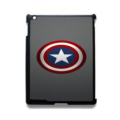 Captain America Shield TATUM-2360 Apple Phonecase Cover For Ipad 2/3/4, Ipad Mini 2/3/4, Ipad Air, Ipad Air 2