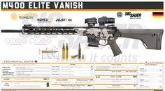 Armas Sig Sauer, Tactical Armor, Self Defense Weapons, Gun Art, Custom Guns, Weapon Concept Art, Cool Guns, Assault Rifle, Military Weapons
