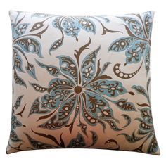 Have to have it. Jiti Flucci 26 x 26 in. Pillow - $105.98 @hayneedle