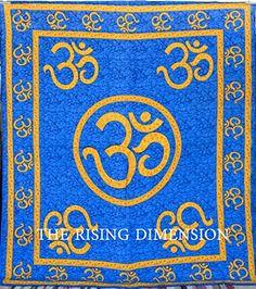 The Rising Dimensions Om Tapestry Mandala Tapestry Psychedelic Tapestry, Mandala Tapestry , Om Hippie Mandala Tapestries The Rising Dimensions http://www.amazon.com/dp/B00SR35BSS/ref=cm_sw_r_pi_dp_njGXub056BEEW