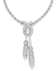 Diamond Necklaces : Harry Winston