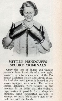 Mitten handcuffs