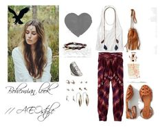 """""""The New Bohemian with American Eagle Outfitters: Contest Entry"""" by nativefabfox ❤ liked on Polyvore"""