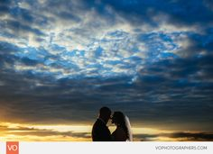 Anthony's Oceanview Wedding by VO Photographers Sunset Beach Weddings, Wedding Dj, Lifestyle Photography, Photographers, Floral Design, Gown, Cottage, Clouds, Stylish