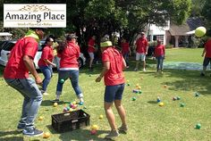 The Amazing Place in Sandton recently hsoted a team from Standard Bank for a Corporate Fun Day team building event. The Corporate Fun Day event is a great activity for any occasion which can be bot… Team Building Venues, Team Building Activities, Building Ideas, Good Day, The Good Place, Watauga Lake, Youth Ministry, Event Management, Teamwork