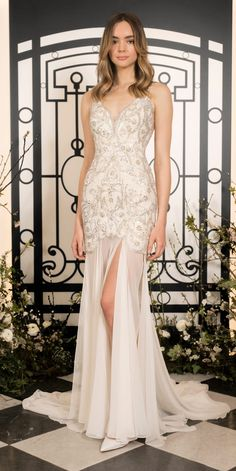 Stunning wedding dresses from the Jenny Packham 2020 Bridal Collection. Stunning Wedding Dresses, Wedding Dress Styles, Designer Wedding Dresses, Jenny Packham Bridesmaid Dresses, Jenny Packham Bridal, Bodice Wedding Dress, Sophisticated Dress, Bridal Collection, Spring Collection