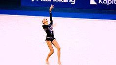 Yana Kudryavtseva's ball routine at the 2014 European Championships