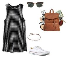 """""""road trip"""" by kinleymarieforbis on Polyvore featuring Converse, LORAC, Avon, AERIN, Billabong and Ray-Ban"""