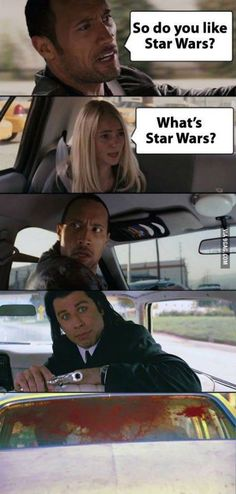 You like Star Wars?