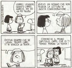 Unquestionable literary questions by NerdParty - Peanuts Charlie Brown Comics, Nerd Party, Peanuts Quotes, Snoopy Comics, Snoopy And Woodstock, Peanuts Snoopy, Cartoon Pics, Calvin And Hobbes, Vignettes