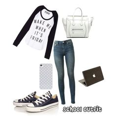 6 cool outfits for school - spring edition! - women-outfits.com