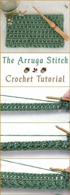 The Arruga Stitch Crochet Tutorial – Yarn & Hooks – Tunisian Crochet İdeas. Crochet Diy, Stitch Crochet, Bag Crochet, Tunisian Crochet, Crochet Basics, Crochet For Beginners, Learn To Crochet, Crochet Crafts, Crochet Projects