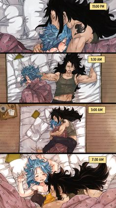 This is pretty much how me and my boyfriend sleep throughout the night XD