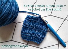 Finally—a detailed tutorial on how to neatly seam joined rounds. ✿⊱╮Teresa Restegui http://www.pinterest.com/teretegui/✿⊱╮