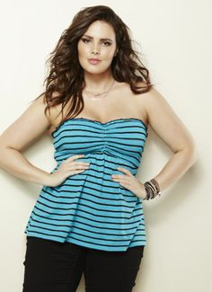 ☼ Trending Now: Stripes ☼ Summer 2013. Torrid, plus size, curvy fashion. Skinnies and stripes