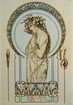 Alphonse Mucha Paintings 7